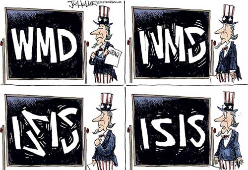 WMD morphs to ISIS