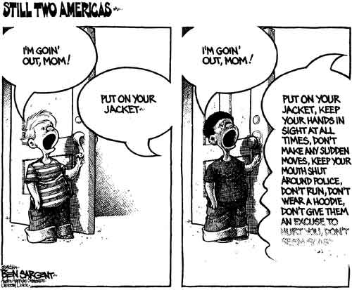 Two Americas, separate and unequal