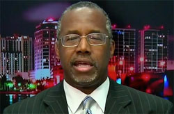 ben carson drives GOP clown car