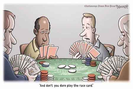 dont play the race card