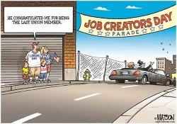 Un Labor day job creators