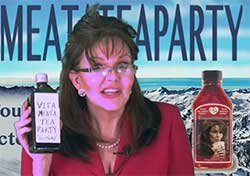 Sarah Palin channels I Love Lucy, Vitameatavegamin