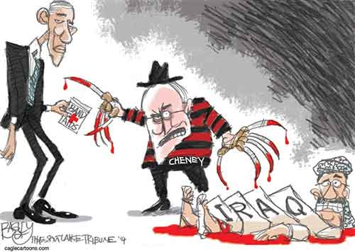 Bloody Dick Cheney