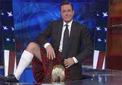 stephen colbert for Scotland independence