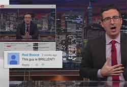 john oliver reads youtube comments
