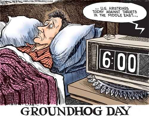 Middle East Groundhog day