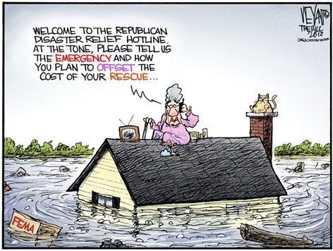 hurricane sandy chris weyand cartoon