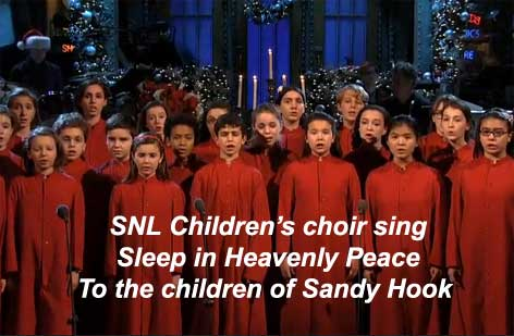 sleep in heavenly peace sandy hook