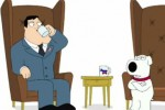 'Family Guy' stars Conservative Stan and Liberal Brian disagree in  Rock the Vote in Video PSA