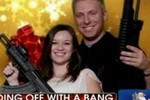 Chris Matthews: Az gun club celebrates birth of Jesus with photos of entire families holding guns posing with Santa!