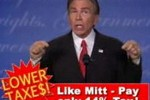 Fictional pitchman and comedian Joe Isuzu returns to make a very funny 'too good to be true' ad for Romney