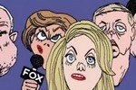 Jim Morin of Miami Herald animated cartoon 'Benghazi': Fox attacks on Obama over Benghazi best thing to happen to Al Qaida