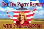 Susie Sampson Tea Party Beach Babe does the debt ceiling