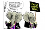 Uterus chaos!  Republicans must stop unregulated and unlicensed uteri and control them!