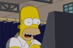 Homer Simpson casts his ballot in 2012 Presidential election and disappears after making the wrong  choice