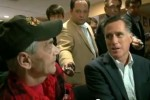 Romney photo op AWKWARD as newly married Vet grills  Mitt on Gay Marriage