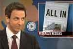 seth meyers weekend update patraeus