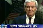 newt gingrich predicts Romnew win by 6