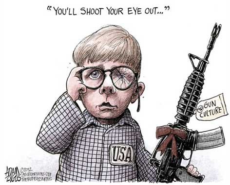 Shoot your eye out NRA