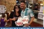 Stupid girl sarah palin endorses Chick-fil-A bigotry