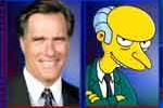 mitt romney is Mr Burns