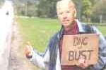 joe biden hitchhikes to convention