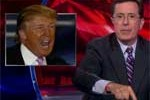 Stephen colbert donald trump birthers