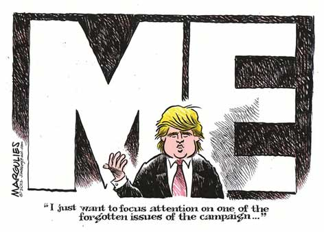jimmy margulies cartoon, Donald Trump ME