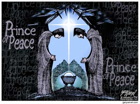 Merry Christmas from the Prince of Peace – Late Night in the Morning